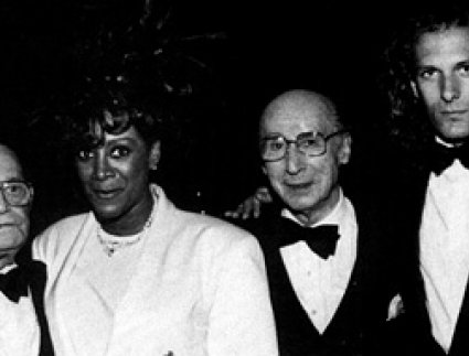 Patti LaBelle, Sammy Cahn and Michael Bolton