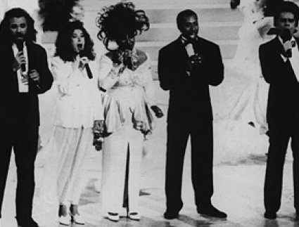 Gary Morris, Melissa Manchester, Patti LaBelle, Jeffrey Osborne, and Buster Poindexter sing the open