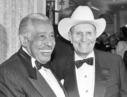 Song Citation Recipient Cab Calloway and Gene Autry, winner of the 1991 Lifetime Achievement Award.