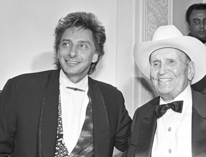Barry Manilow and Gene Autry