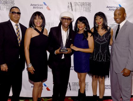 Bernard Edwards, Jr Kim Sledge, Nile Rodgers, Joni Sledge, Debbie Sledge, David Edwards