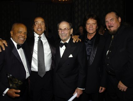 Berry Gordy, Smokey Robinson, Hal David, John Fogerty, and Steve Cropper