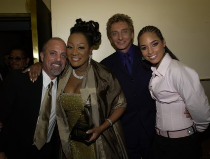 Billy Joel, Patti LaBelle, Barry Manilow, Alicia Keys