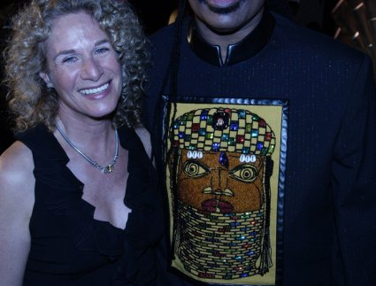 Carole King, and Stevie Wonder