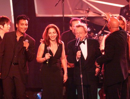 Diane Warren, Jon Secada, Gloria Estefan, and Paul Williams