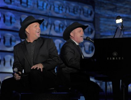 Garth Brooks and Billy Joel