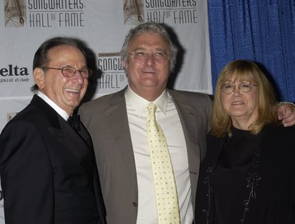 Hal David, Randy Newman, and Linda Moran