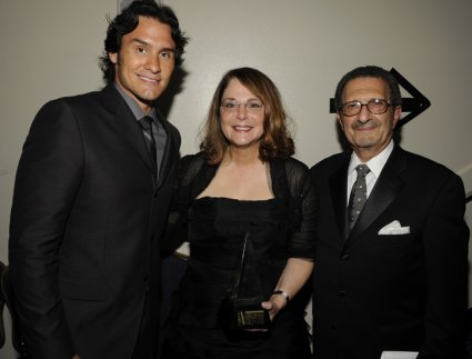 Joe Nichols, Maxyne Lang, and Irwin Robinson