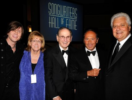 John Rzeznik, Linda Moran, Hal David, Paul Anka, and Marty Bandier