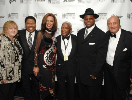 Linda Moran, Billy Davis, Marilyn McCoo, Irving Burgie, Jimmy Jam, Don Kirshner