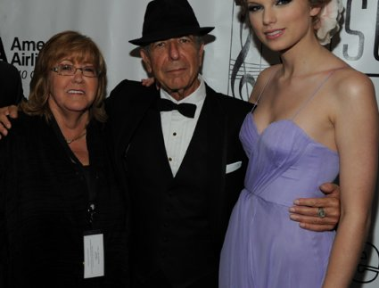Linda Moran, Leonard Cohen, and Taylor Swift