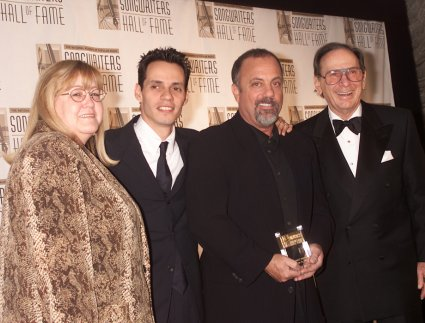 Linda Moran, Marc Anthony, Billy Joel, and Hal David