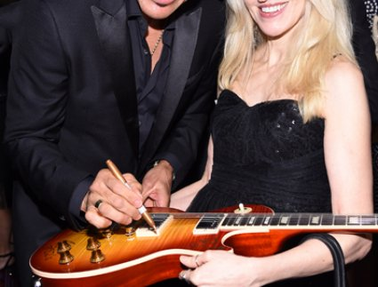Lionel Richie, April Anderson
