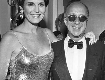Lucy Arnaz and Paul Shaffer