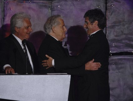 Martin Bandier, Freddy Bienstock, and Jody Klein