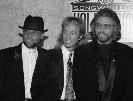 Maurice, Robin, and Barry Gibb