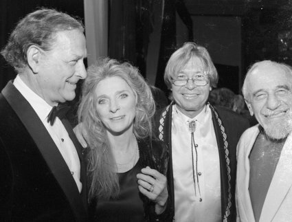 Oscar Brand, Judy Collins, John Denver, and Mitch Miller
