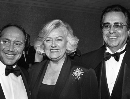 Paul Anka, Frances Preston, Bobby Weinstein