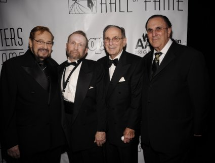 Phil Ramone, Johnny Mandel, Hal David, and Phil Ramone