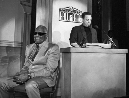 Ray Charles and Billy Joel