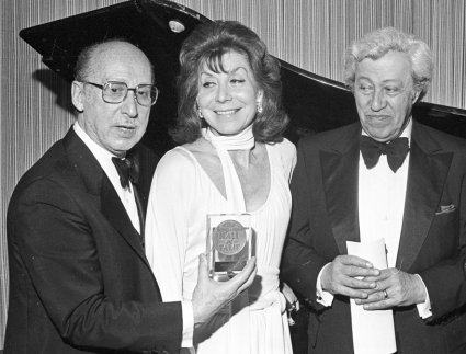 Sammy Cahn, Betty Comden, and Adolph Green