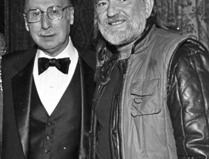 Sammy Cahn and Willie Nelson