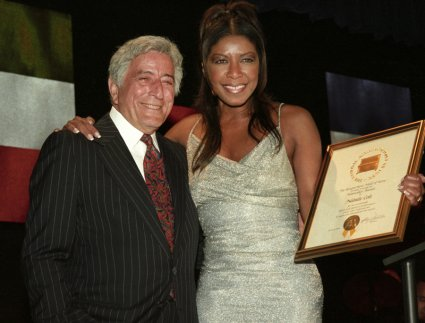 Tony Bennett and Natalie Cole