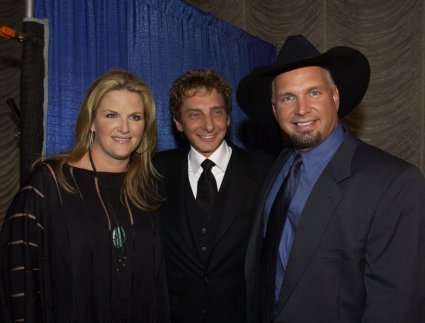Tricia Yearwood, Barry Manilow, and Garth Brooks