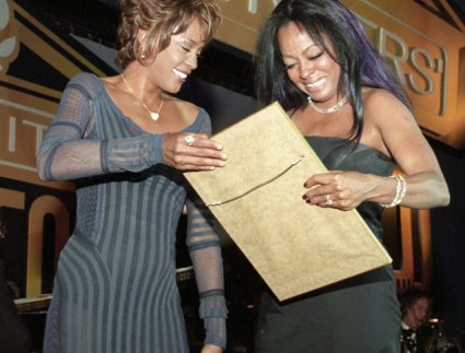 Whitney Houston, Diana Ross