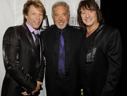 Jon Bon Jovi, Tom Jones, and Richie Sambora