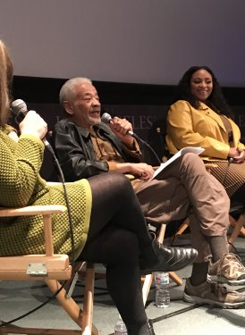 Bill Withers co-moderating the panel discussion