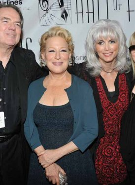 Jimmy Webb, Bette Midler, Emmylou Harris and Stevie Nicks