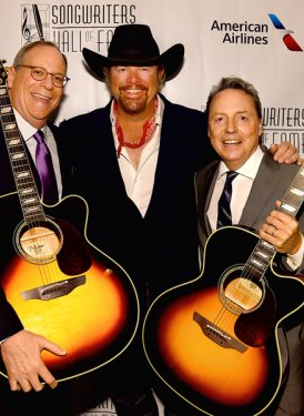 Charlie Feldman, Toby Keith and Jody Williams