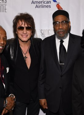 Leon Huff, Richie Sambora, Kenneth Gamble and John Titta