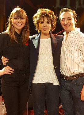 Madeleine Meyer and Michael Arrom with Carole Bayer Sager