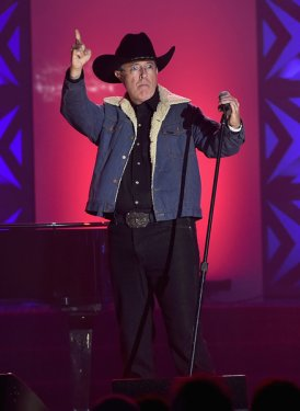 "Stephen Colbert performs ""As Good As I Once Was"" for Toby Keith"