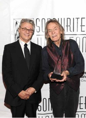 Steve Miller and Inductee Gordon Lightfoot