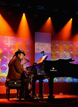 Dr. John performs