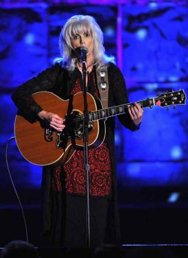 Emmylou Harris performs for Lance Freed