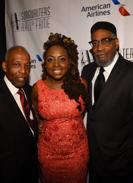 Leon Huff, Ledisi Young and Kenneth Gamble