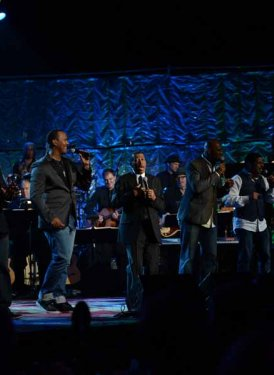 Take 6 and Towering Performance Awardee Ben E. King perform Towering Song