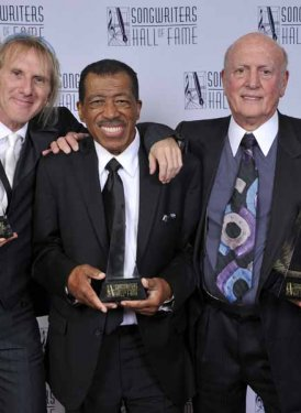 Towering Song Awardees Jed Leiber (for his father Jerry), Ben E. King and Mike Stoller
