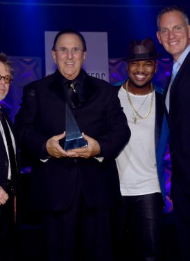 Paul Williams, John LoFrumento, Ne-Yo and Mike O'Neill