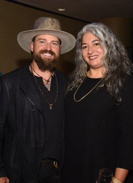 Zac Brown and Trixi Garcia
