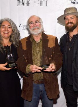 Trixi Garcia, Robert Hunter and Zac Brown