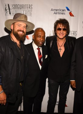 Zac Brown, Leon Huff, Richie Sambora and Kenneth Gamble