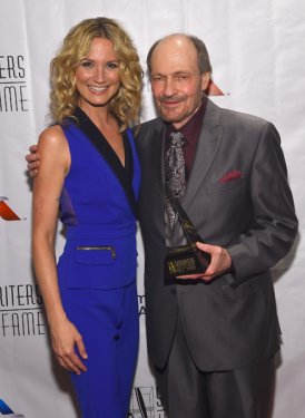 Performer Jennifer Nettles and Inductee Bobby Braddock