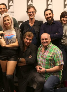(left to right back row) Donna Caseine, Barbara Cane, Casey Robison, Dan Wilson, Ross Golan, Jennifer Knoepfle, Jack Antonoff and Mary Jo Mennella (front row) Bonnie McKee, Scott Cutler and Kenny MacPherson