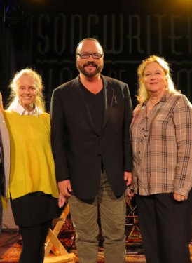 Chris Sampson, Barbara Cane, Desmond Child, Kathy Spanberger and Mary Jo Mennella