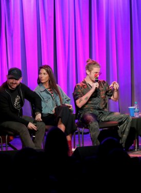 Brian Lee, Louis Bell, Ali Tamposi and Andrew Watt discuss hitmaking with moderator Melinda Newman